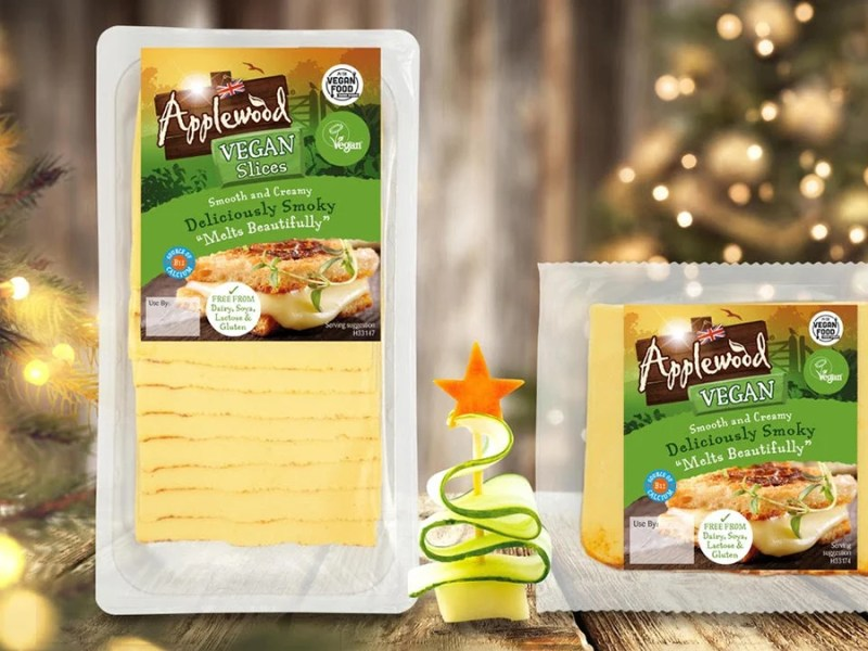 vegan cheese for Christmas