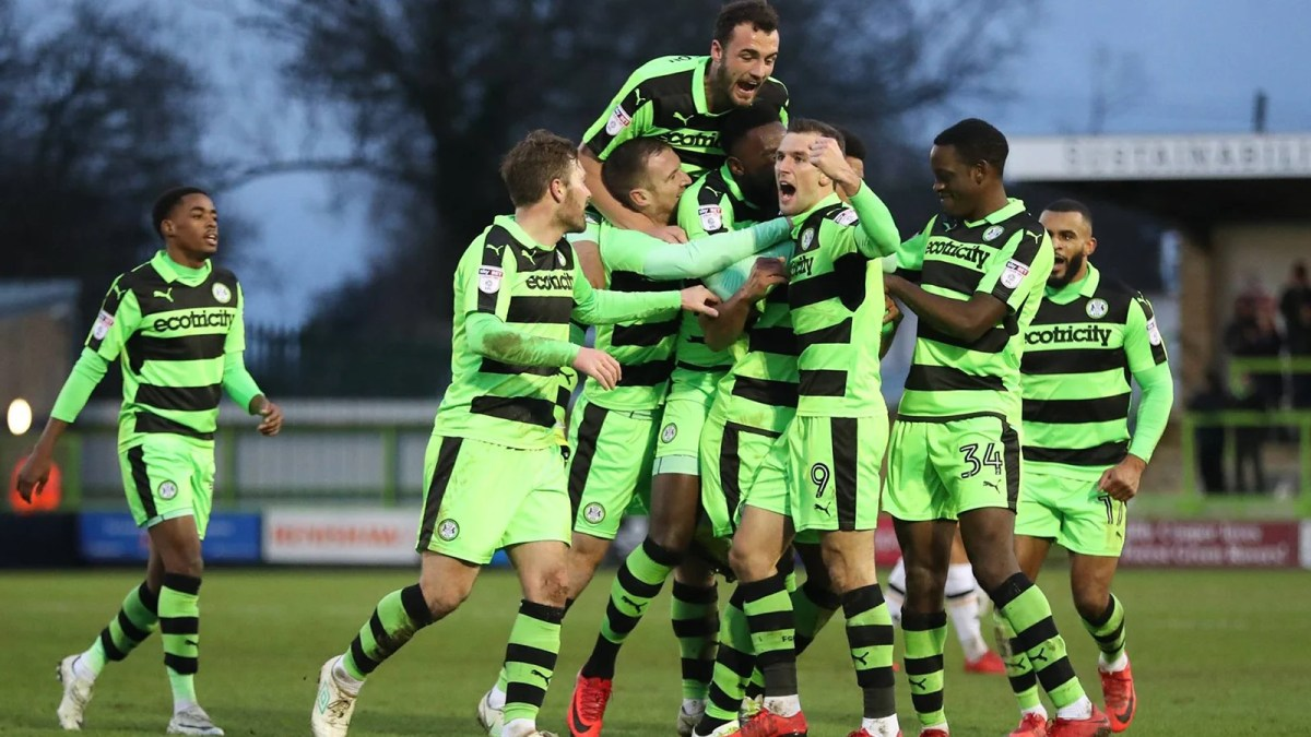vegan football club Forest Green Rovers
