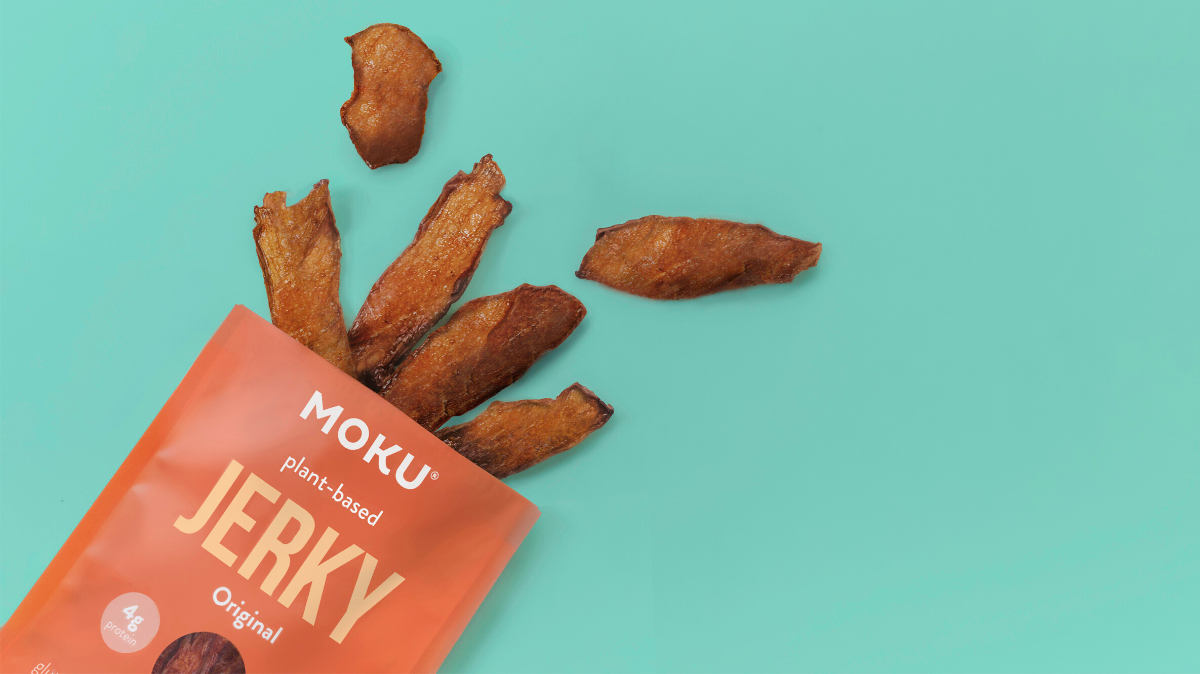 Moku Foods, a plant-based start-up, has launched three flavors of its mushroom jerky