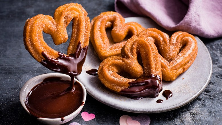 UK retailer Marks and Spencer launches vegan menu for Valentine's Day, including heart-shaped churros as part of its dine-in range.