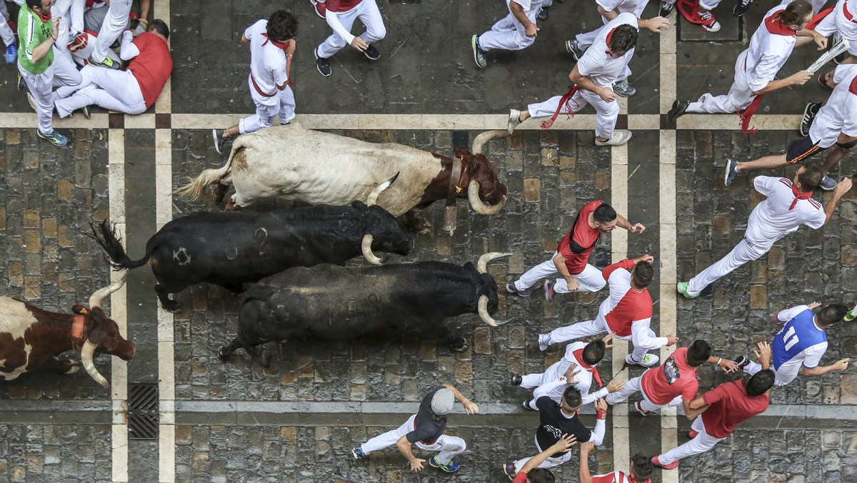 The Running of the Bulls event