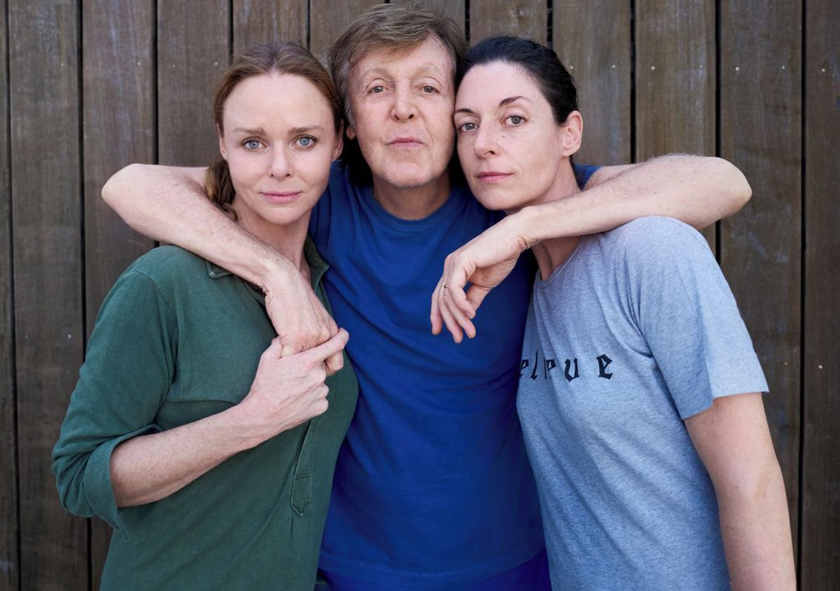 Paul, Stella and Mary McCartney