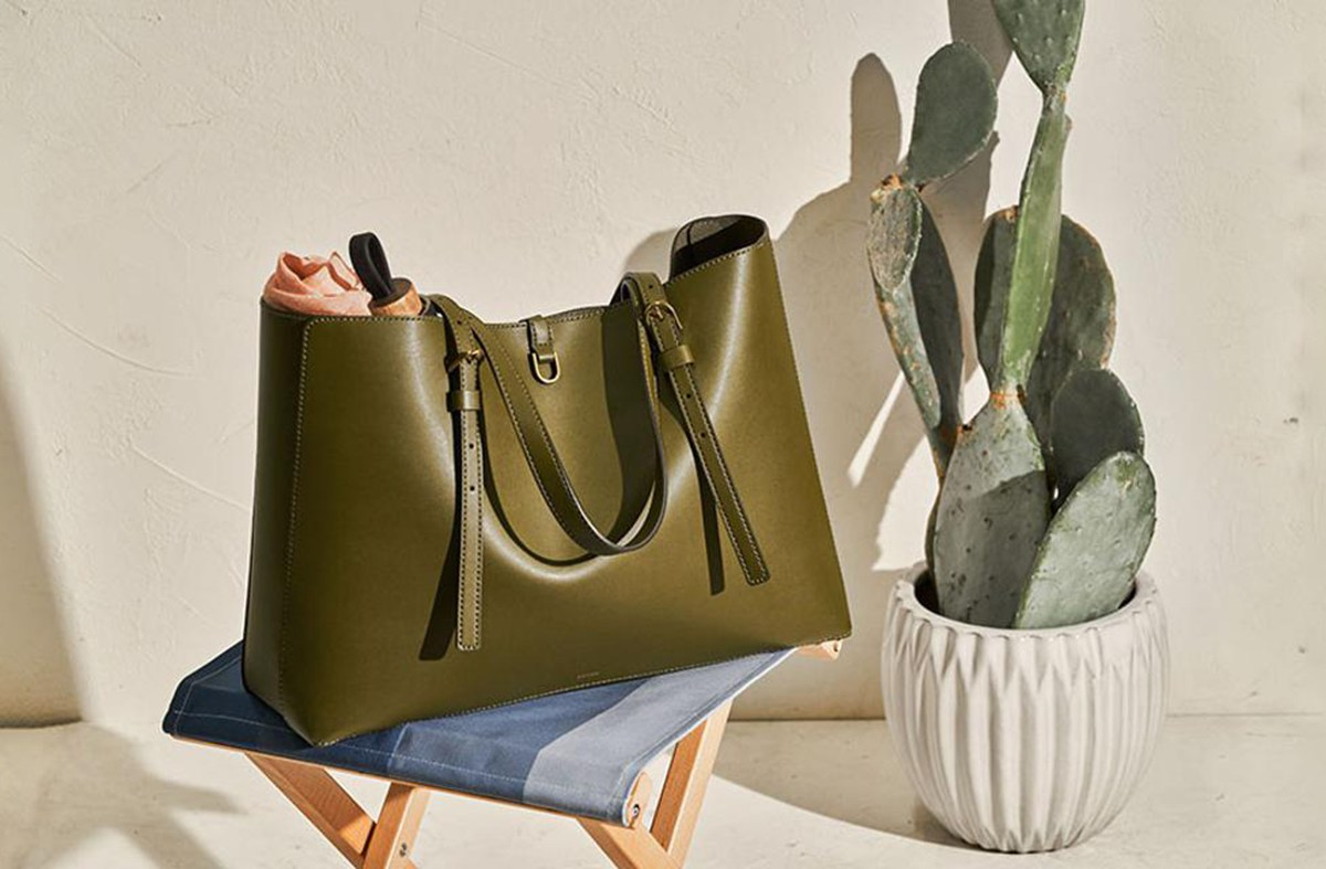 Fossil Launches Vegan Leather Bags Made From Cacti