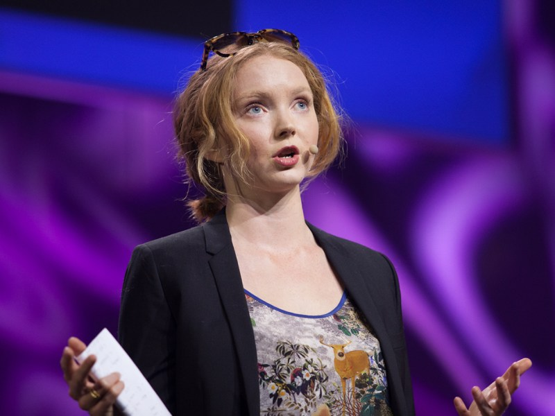 Lily Cole Says Fewer People Would Eat Meat 'If They Knew It Was Causing Deforestation'