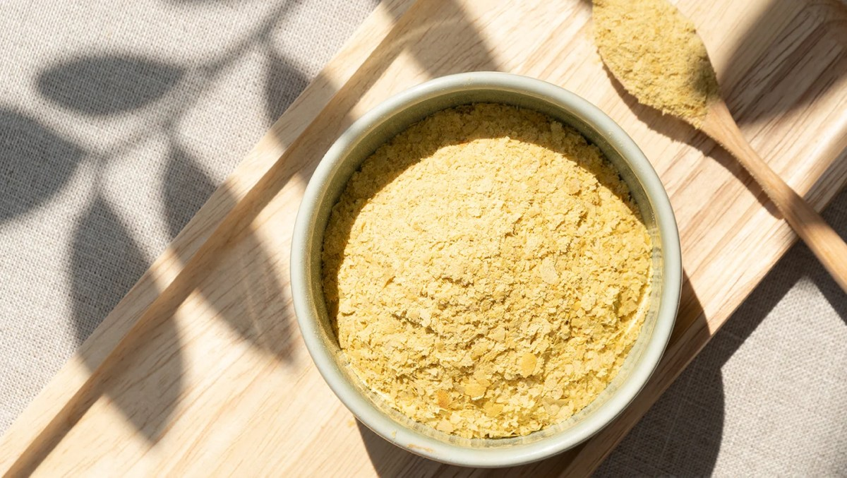 Nutritional yeast, also known as nooch