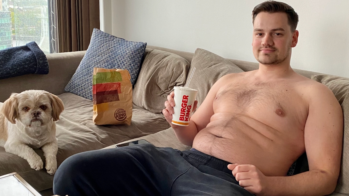 Vegan fitness trainer Andrew Roberts aims to boast weight loss since purposefully becoming obese, in order to inspire people to try a whole-food plant-based diet