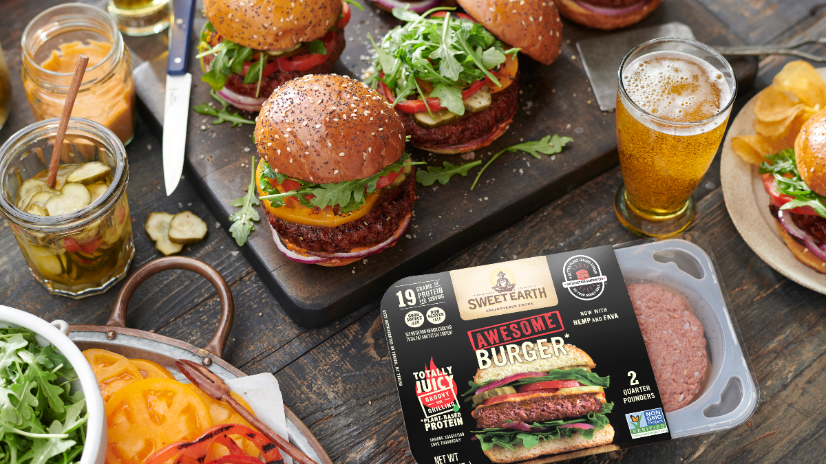 Nestle announces the launch of two new plant-based protein products, as well as the reformulation of its Awesome Burger