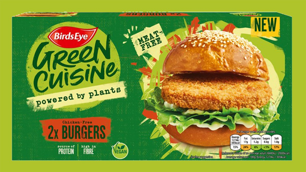 Birds Eye Expands Vegan Range With New Plant-Based Chicken Products