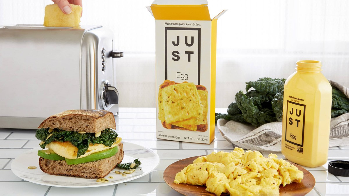 Eat Just Plans To Launch Vegan Egg In Europe By End Of Year