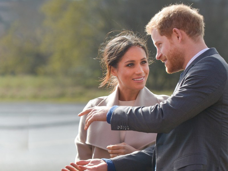 Meghan Markle And Prince Harry Gifted Vegan Sneakers