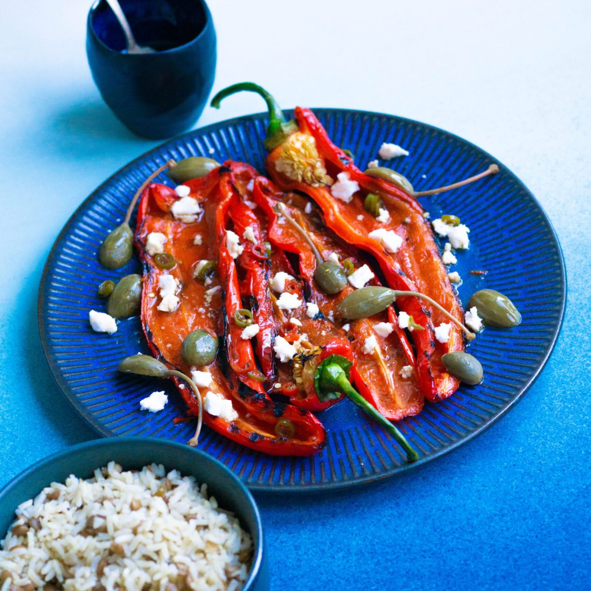 peppers with feta