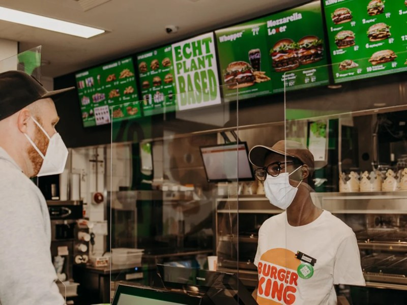 Huge Queues Gather After Burger King Store Hosts 'Plant-Based' Takeover
