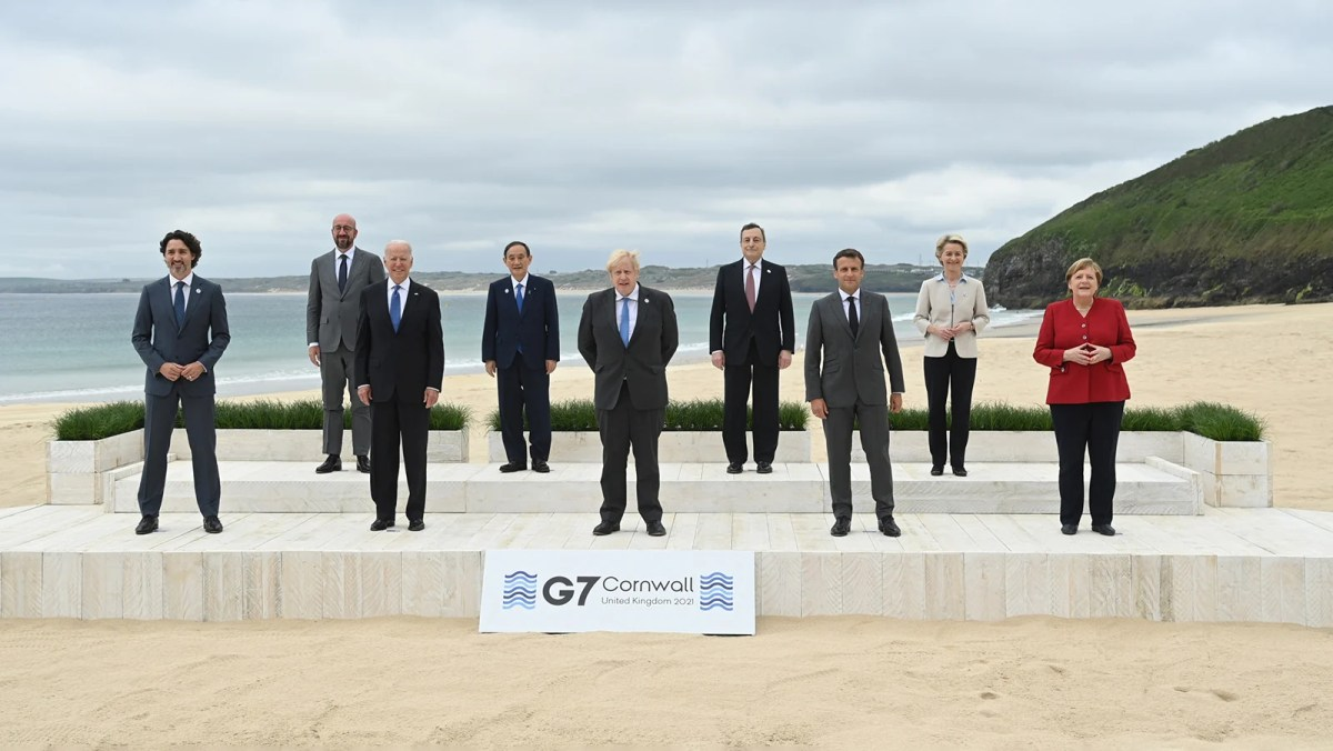 G7 Leaders Slammed Over 'Steak And Lobster BBQ' As Climate Crisis 'Escalates'