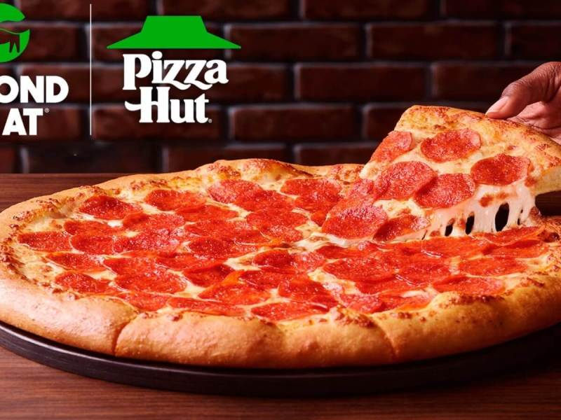 Pizza Hut Just Introduced Vegan Pepperoni Made By Beyond Meat