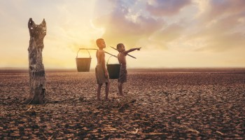 Climate change report released by UNICEF shows 1 billion children will face the worst effects of climate change