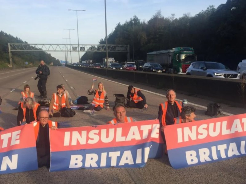Climate Protesters Block One Of UK's Busiest Roads For 5th Time In One Week