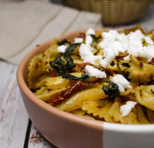 sun-dried tomato pasta