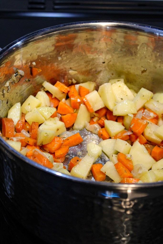creamy citrus vegetable soup