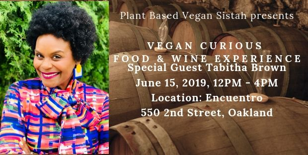 Vegan Curious Event: Food & Wine Experience June 15, 2019