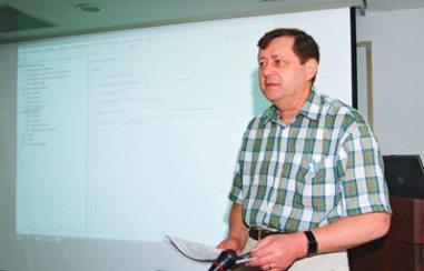 DR. Dieter Mulitze, AGROBASE Training Course
