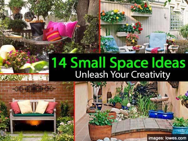 14 Small Space Garden Ideas To Unleash Your Creativity