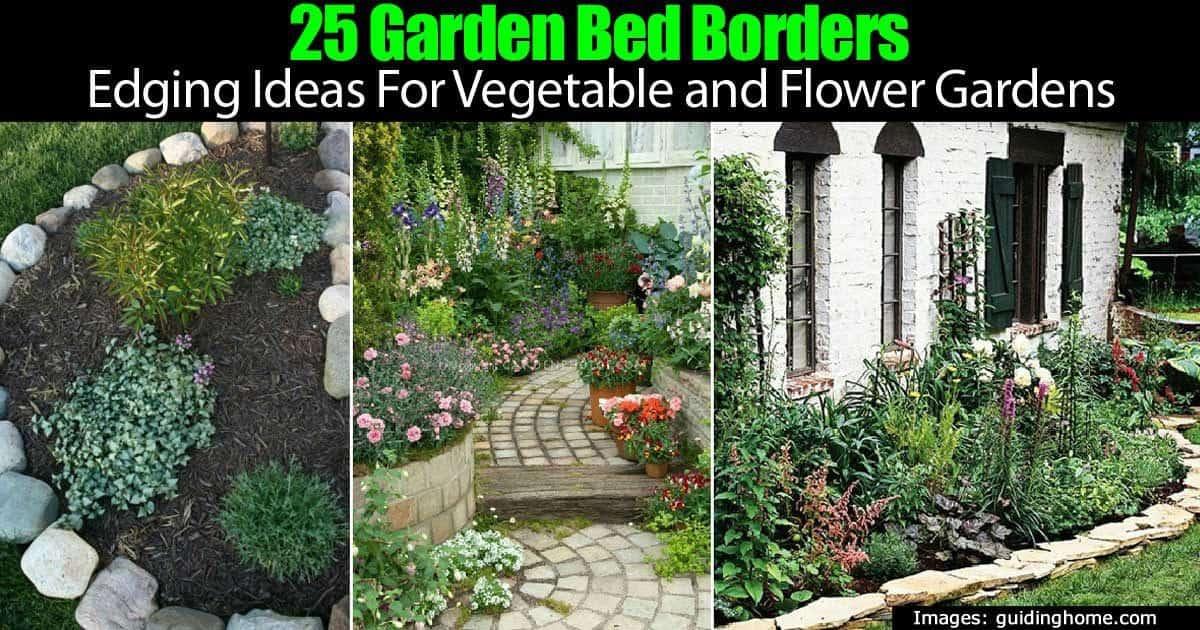 25 Landscaping Border Ideas For Garden Edging