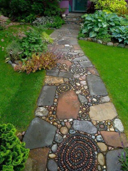 17 Garden Path Ideas Great Ways To Create A Garden Walkway
