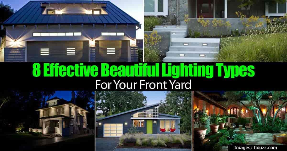 beautiful front yard lighting ideas