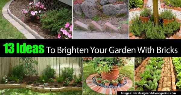 ideas brighten garden