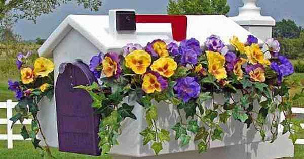 mailbox garden ideas create