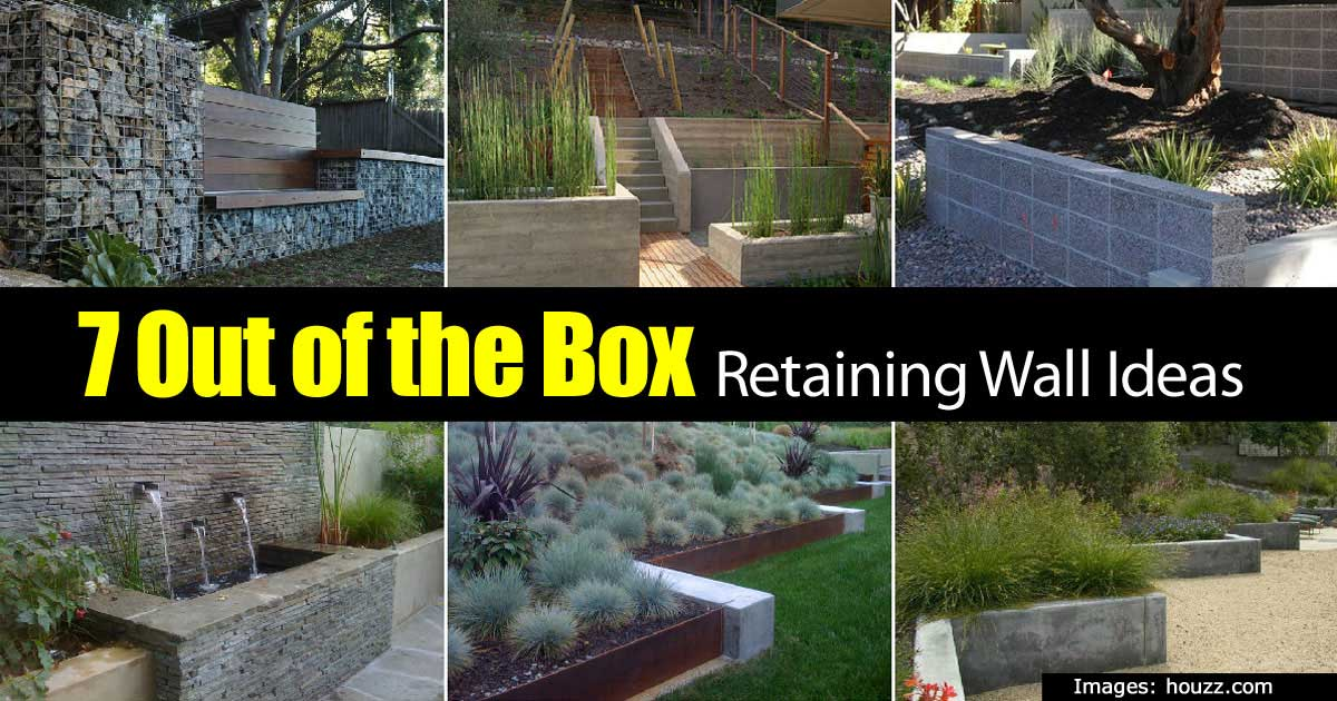 Retaining Wall Ideas How To Use A Wonderful Landscape Tool