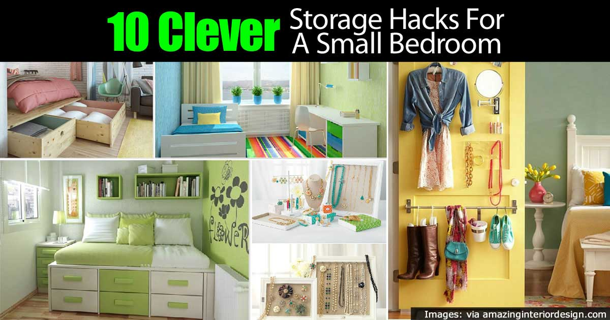 How To Declutter A Small Bedroom