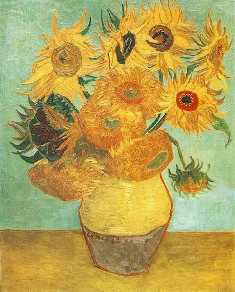 482px-Van_Gogh_Twelve_Sunflowers