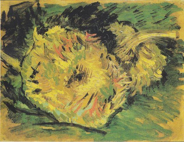772px-Van_Gogh_-_Zwei_abgeschnittene_Sonnenblumen