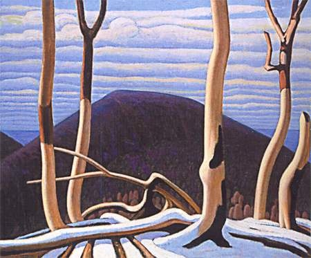 Lawren Harris Above Lake Superior c. 1922