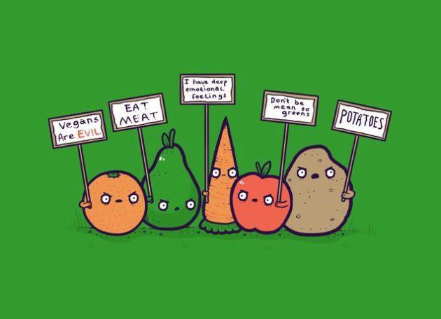Vegetable liberation movement
