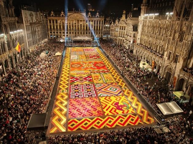 Belgium flower festival