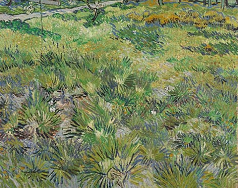 National Gallery: Long grass with butterflies