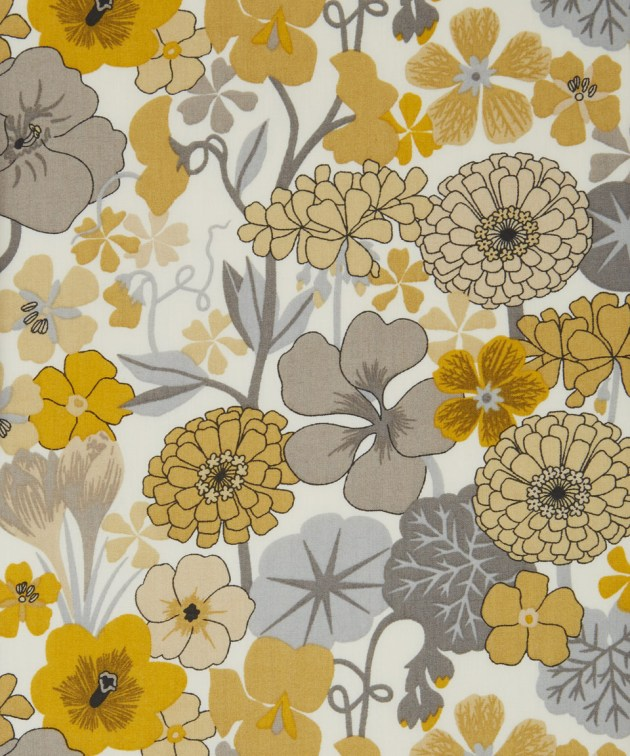 Liberty Wild Flower fabric design