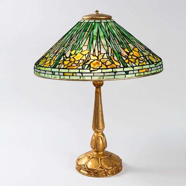 Tiffany floral lamp