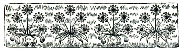 Free floral borders in Public Domain