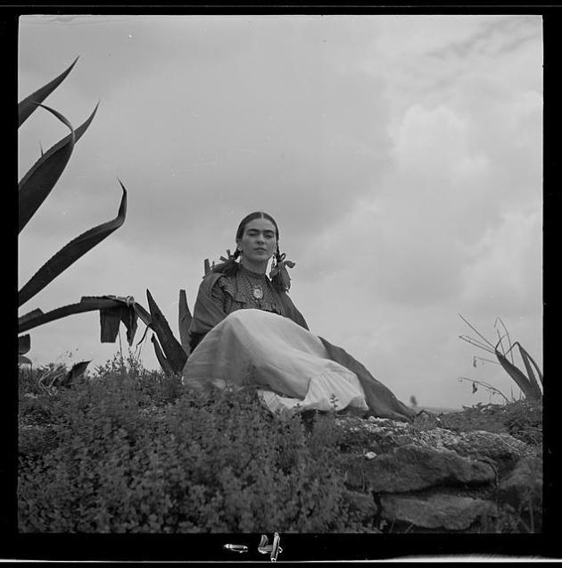 Frida Kahlo with Agave