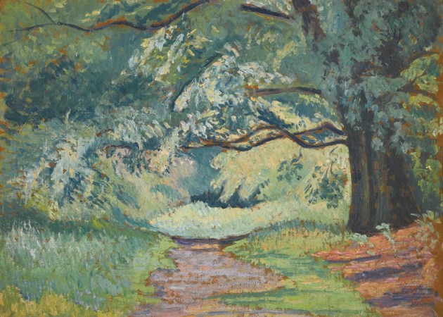 Path in Epping Forest, Pissarro