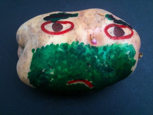Potato art
