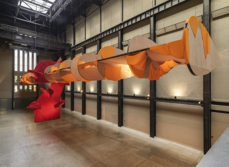 Richard Tuttle textile sculpture