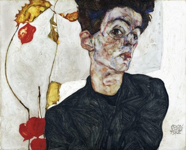 Egon Schiele - Physalis