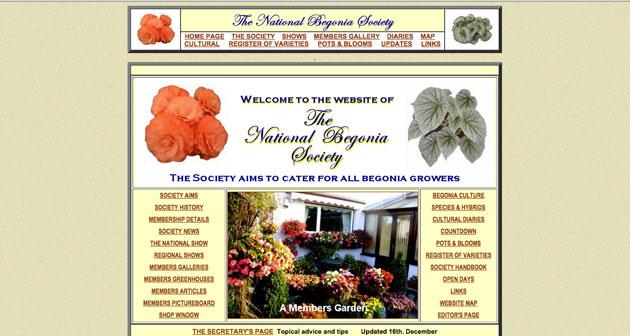 Begonia society