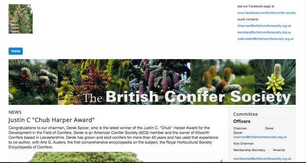 Conifer society