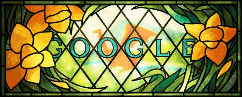 Google doodle daffodil