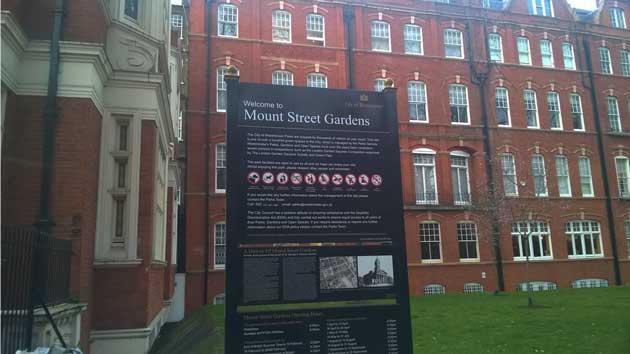 Mount Street Garden